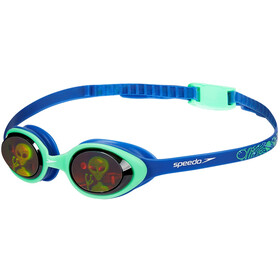 speedo Illusion 3D Printed Goggles Kids ultrasonic/green/alienhologram